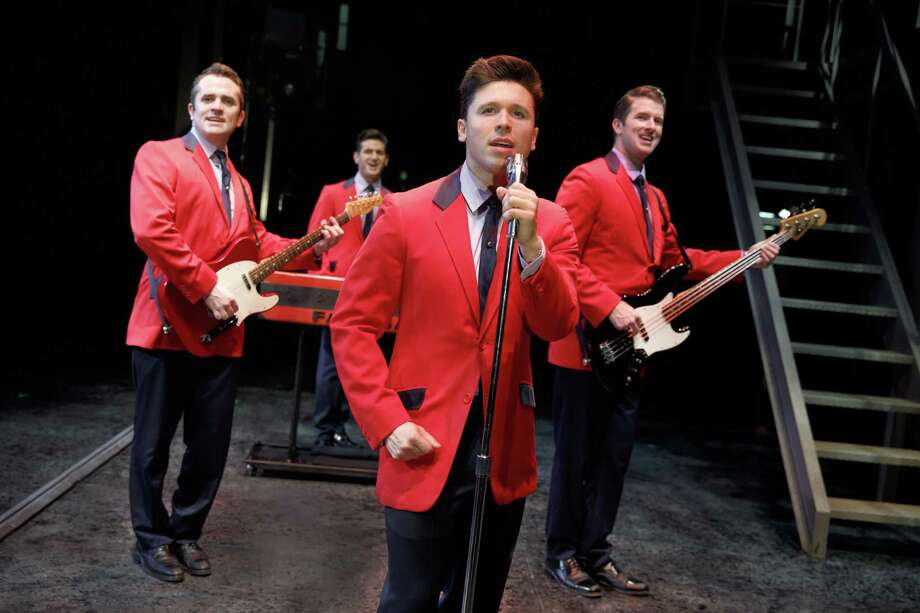"Corey Greenan, left, Tommaso Antico, Jonny Wexler and Chris Stevens star in ""Jersey Boys"" at the Palace Theatre in Waterbury, March 23 and 24. Photo: Joan Marcus / Contributed Photo / ©2017 Joan Marcus"