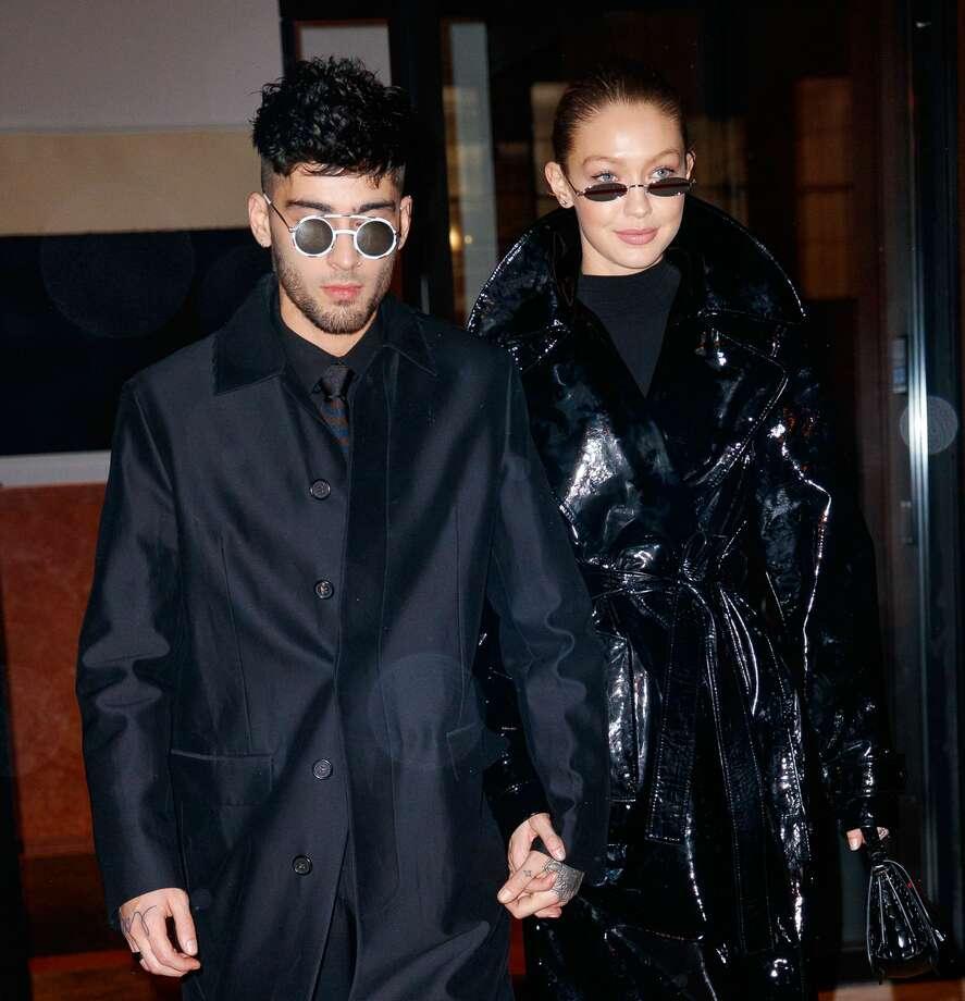 Zayn Malik and Gigi Hadid seen on January 12, 2018 in New York City. Photo: Gotham/GC Images
