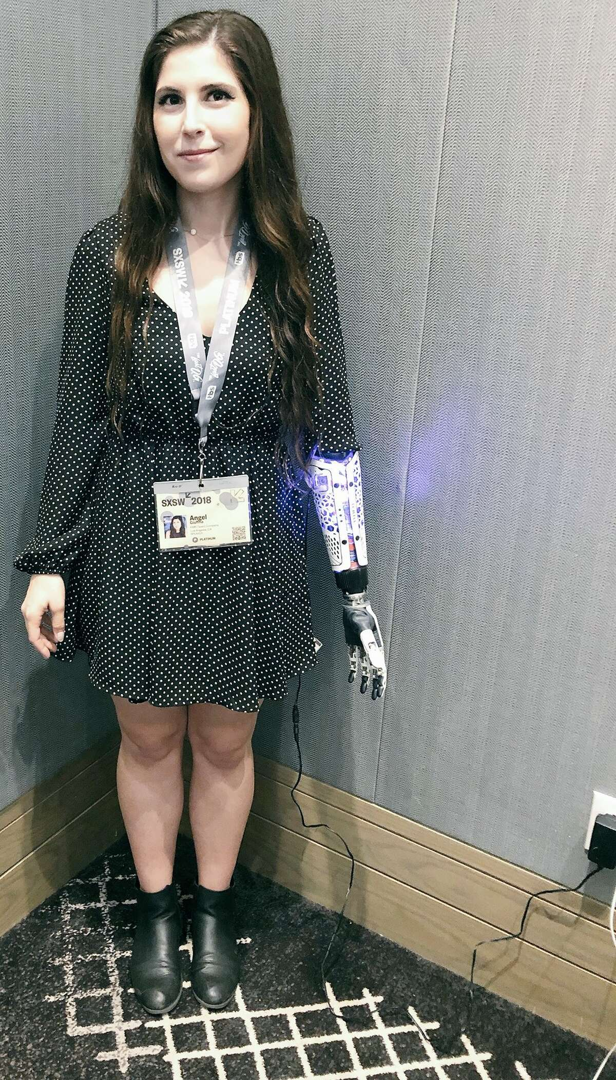 An amputee with a high-tech prosthetic arm recently went viral for tweeting about a funny encounter at Austin's South by Southwest. See notable figures and celebrities who showed up atSXSW 2018.