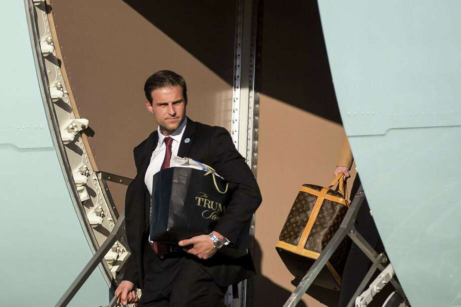 John McEntee, President Donald Trump's personal aide,  was forced out of his position and escorted from the White House on Monday  after his security clearance was revoked. Photo: AL DRAGO / Al Drago / New York Times / NYTNS