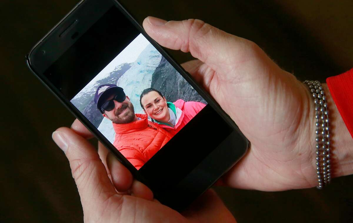 T.J. Shushereba shares a photo of a trip with his wife Jennifer Gonzales to the Exit Glacier in Alaska in June 2015.