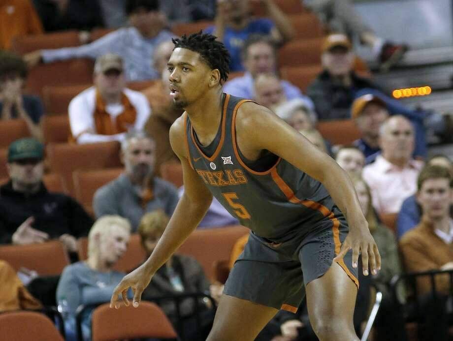 AUSTIN, TX - NOVEMBER 29: Royce Hamm Jr. #5 of the Texas Longhorns plays defense against the Florida A&M Rattlers at the Frank Erwin Center on November 29, 2017 in Austin, Texas. (Photo by Chris Covatta/Getty Images) Photo: Chris Covatta/Getty Images