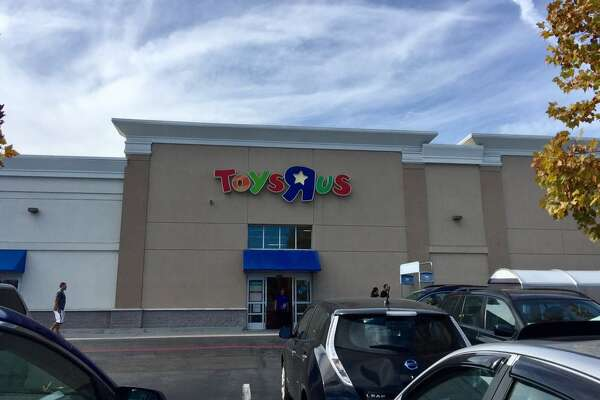 The Toys R Us in Sunnyvale, infamous for its ghostly haunting.