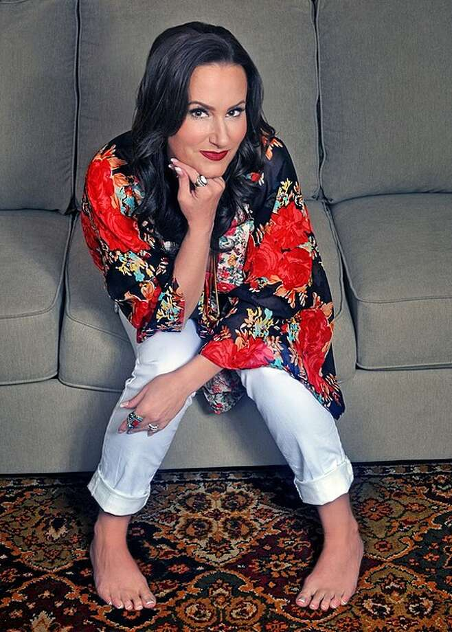 """Georgette Jones, daughter of George Jones and Tammy Wynette, will perform songs of her parents in """"Haggard & Jones"""" Friday night at the Crighton Theatre in Conroe."""