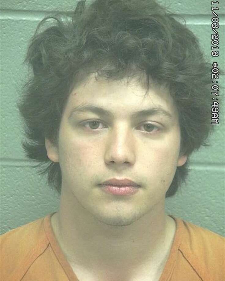 Colton Hinojosa, 19, was arrested March 9 after he allegedly sexually assaulted a teenager, according to court documents. Photo: Midland County Sheriff's Office