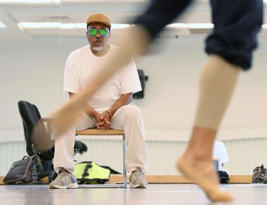 Alonzo King during rehearsal at SF Ballet Building in San Francisco. Photo: Scott Strazzante / The Chronicle