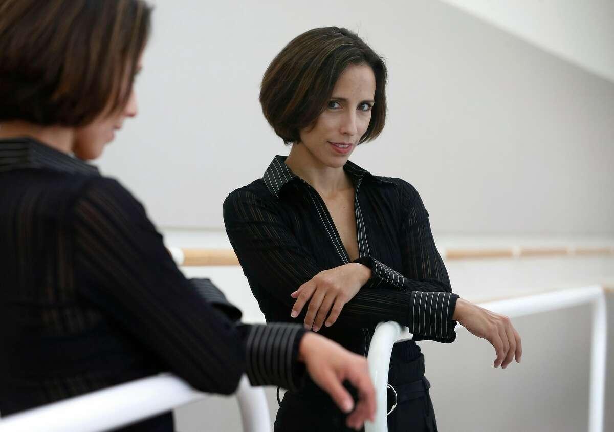 Choreographer Annabelle Lopez Ochoa in a San Francisco Ballet rehearsal studio.