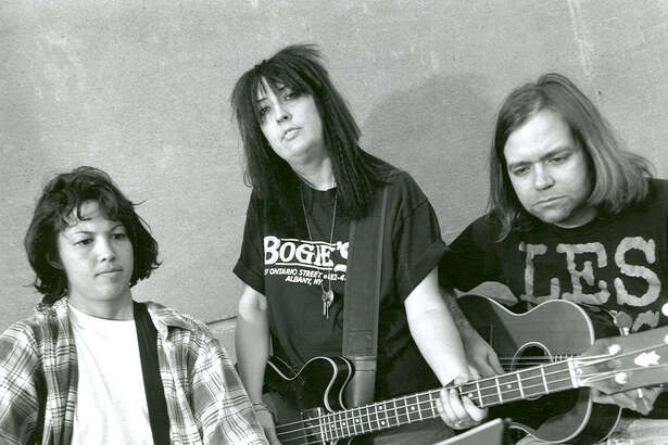 """Fastbacks - The Question is NO  The Fastbacks did straight-ahead rock and roll pretty damn well. From the band's founding in 1979 by Lulu Gargiulo and Kurt Bloch until its disbanding in 2001, the band cut A LOT of records. Their first full-length release, """"And His Orchestra,"""" may be *the* Fastbacks record, but to say as much would be to discount their six Sub Pop releases. We chose """"The Question is NO"""" because it grabs plenty of that early Fastbacks 4/4 fun, but also carries some signs of new ideas working their way through the band's collective head (""""Above The Sunrise,"""" for example). Front to back, it's a barn burner of a record."""
