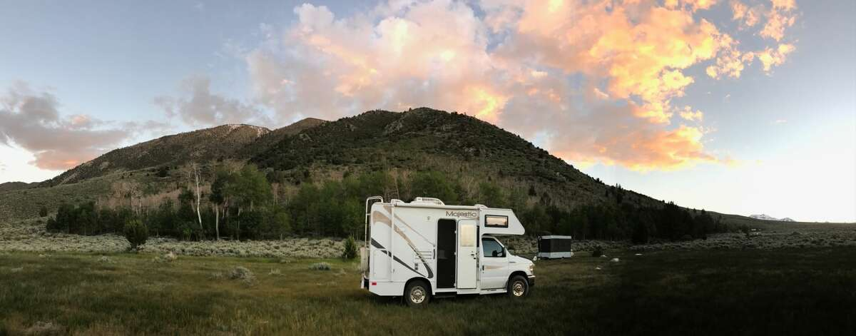 Barbara Wahli purchased her RV last year and  considers herself a part-timer.