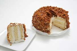 Blum's Coffee Crunch Cake on Tuesday, September 19, 2017, in San Francisco, Calif.