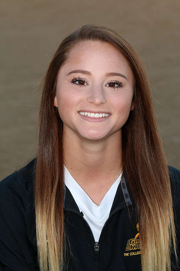 Cohoes High School graduate Briana Bowen of the College of Saint Rose softball team. (Courtesy of Saint Rose Athletics)