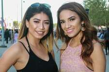 Fans attending the J Balvin rodeo show at NRG Stadium.