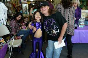 A spring Break party at Casa Ramirez FOLKART Gallery celebrating a bilingual word boook about Selena on Tuesday March 13, 2018