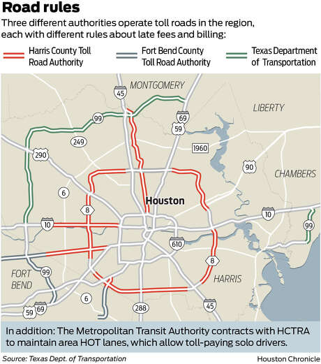 As Texas slashes tollway fines, Houston drivers are faced