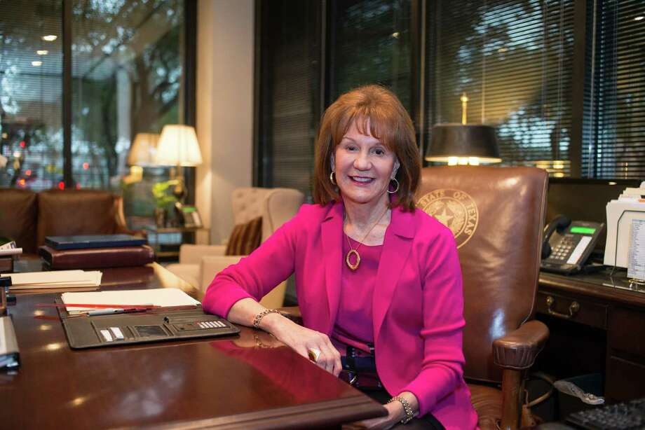 Mary Scott Nabers, CEO of Strategic Partnerships, Inc. in her office in Austin on February 20, 2018. Photo: Lauren Gerson DeLeon, Photographer / For The Chronicle / Lauren Gerson DeLeon | Houston Chronicle