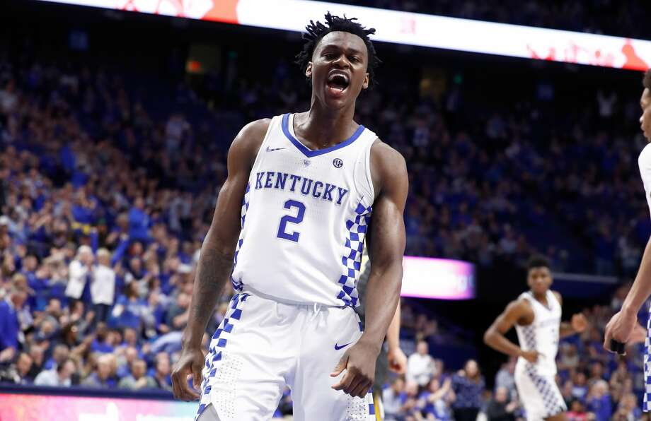 LEXINGTON, KY - FEBRUARY 24:  Jarred Vanderbilt #2 of the Kentucky Wildcats celebrates against the Missouri Tigers at Rupp Arena on February 24, 2018 in Lexington, Kentucky.  (Photo by Andy Lyons/Getty Images) Photo: Andy Lyons/Getty Images
