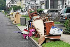 Milford's bulk trash pickup will begin in April and continue through May 21. File photo.