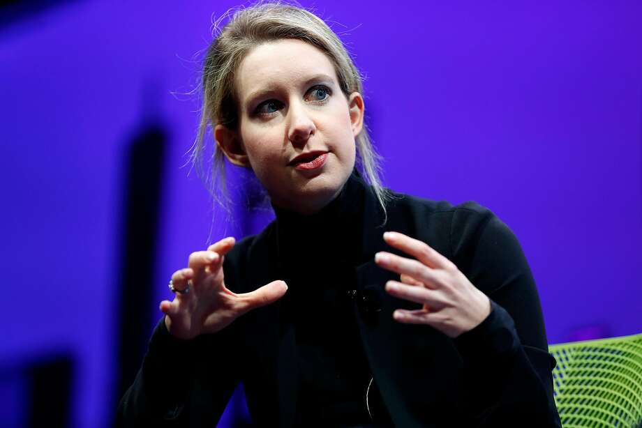 """Elizabeth Holmes and Theranos raised $700 million from investors """"through an elaborate ... fraud in which they exaggerated or made false statements"""" about the company, the Securities and Exchange Commission said. Photo: Connor Radnovich, The Chronicle"""