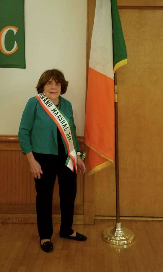 Pat Wilson, a lifelong town resident, will be the grand marshal of the 44th annual St. Patrick's Day Parade in Greenwich. The parade, sponsored by the Greenwich Hibernian Association, will step off at 2 p.m. Sunday from Town Hall. Photo: Contributed /