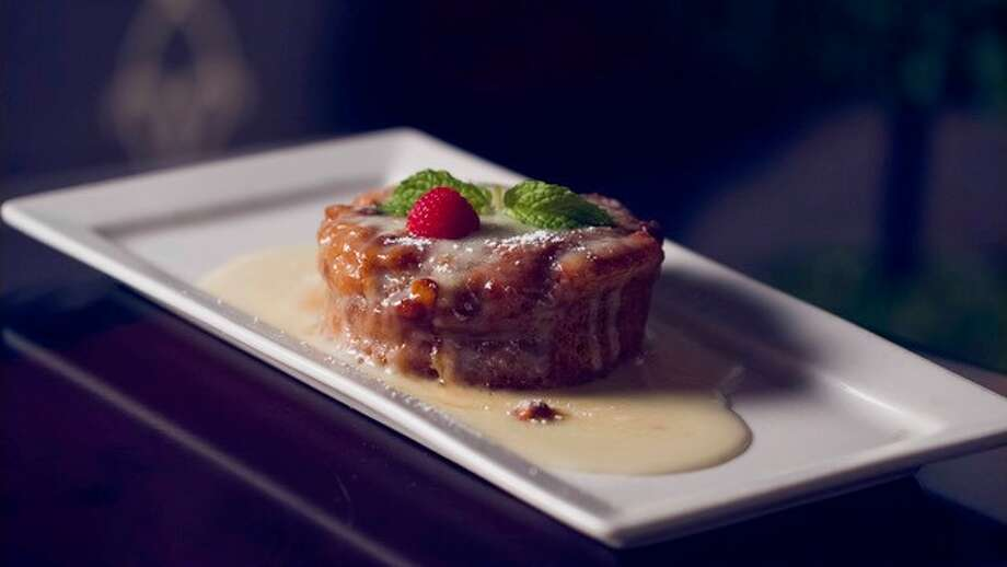 This bread pudding is among one of the best! You can find it at The Rouxpour Restaurant & Bar in Sugar Land, outside of Houston, where it's Mardi Gras all year long!