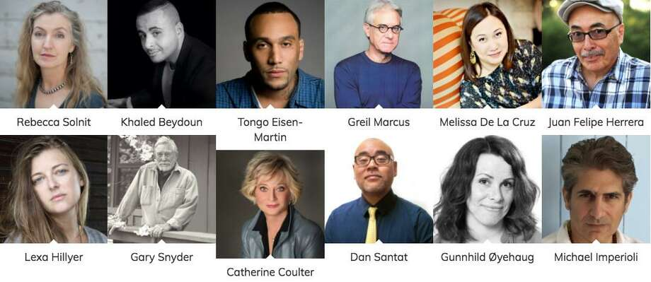 Some of the roughly 250 authors who will be at this year's Bay Area Book Festival. Photo: Bay Area Book Festival