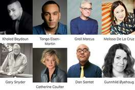 Some of the roughly 250 authors who will be at this year's Bay Area Book Festival.