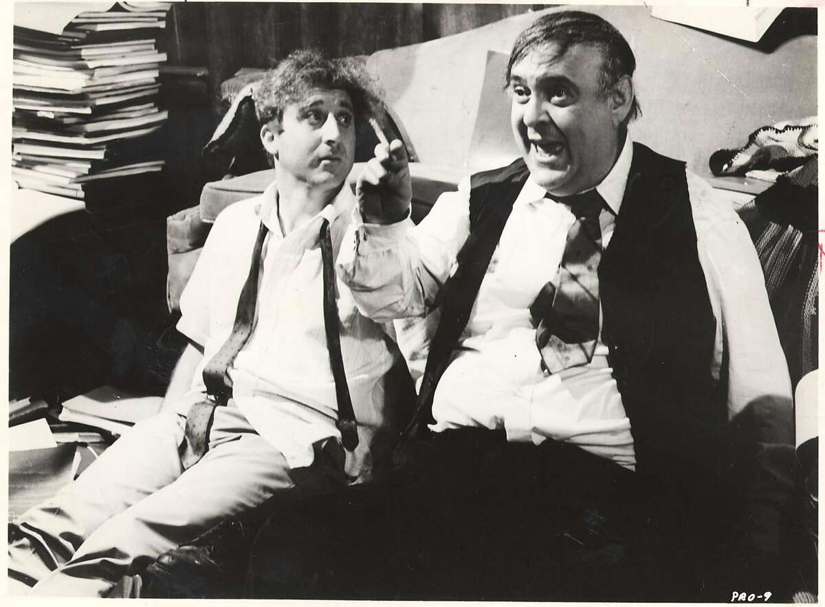 """Gene Wilder (left) and Zero Mostel in the film """"The Producers"""""""