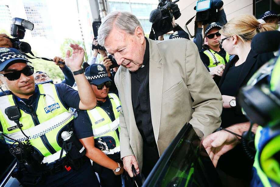 Cardinal George Pell is charged with sexually abusing multiple people in the state of Victoria. Photo: Michael Dodge, Getty Images
