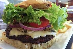 Jalapeño pepper jack burger at Embers