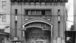 Cozy Theater at 1112 Texas Avenue across from Christ Church Cathedral. The vaudeville-turned-burlesque-turned-movie theater was built in 1910 by Chronicle founder M.E. Foster. It seated around 800 and was built at a cost of $30,000.