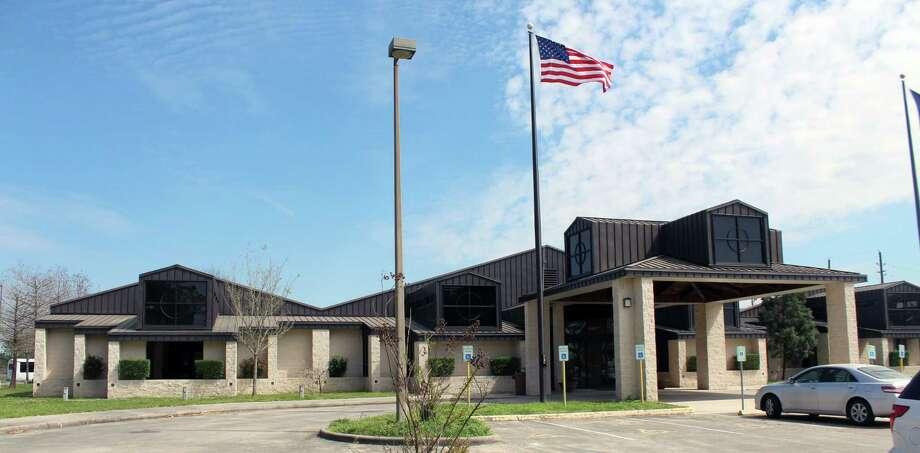 May Community Center in Huffman, Texas. Photo: Kaila Contreras