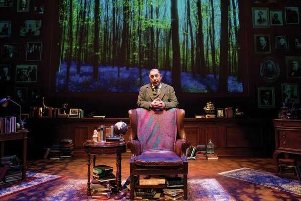 """Max McClean as the title character in """"C.S. Lewis Onstage: The Most Reluctant Convert,"""" presented by A.D. Players."""
