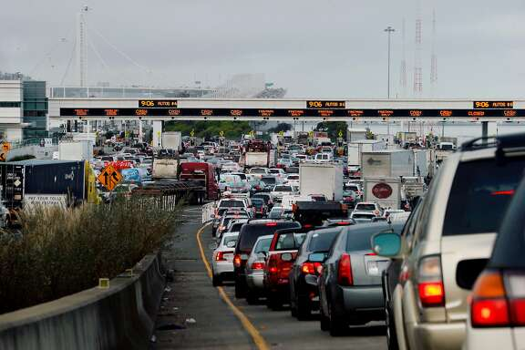 The Bay Bridge Toll Plaza. Under Regional Measure 3, tolls will increase on the Bay Area's bridges by a total of $3 over the next seven years. The funds will go to a wide variety of regional road and transit projects, including ferries, the BART extension, and improvements to 680.