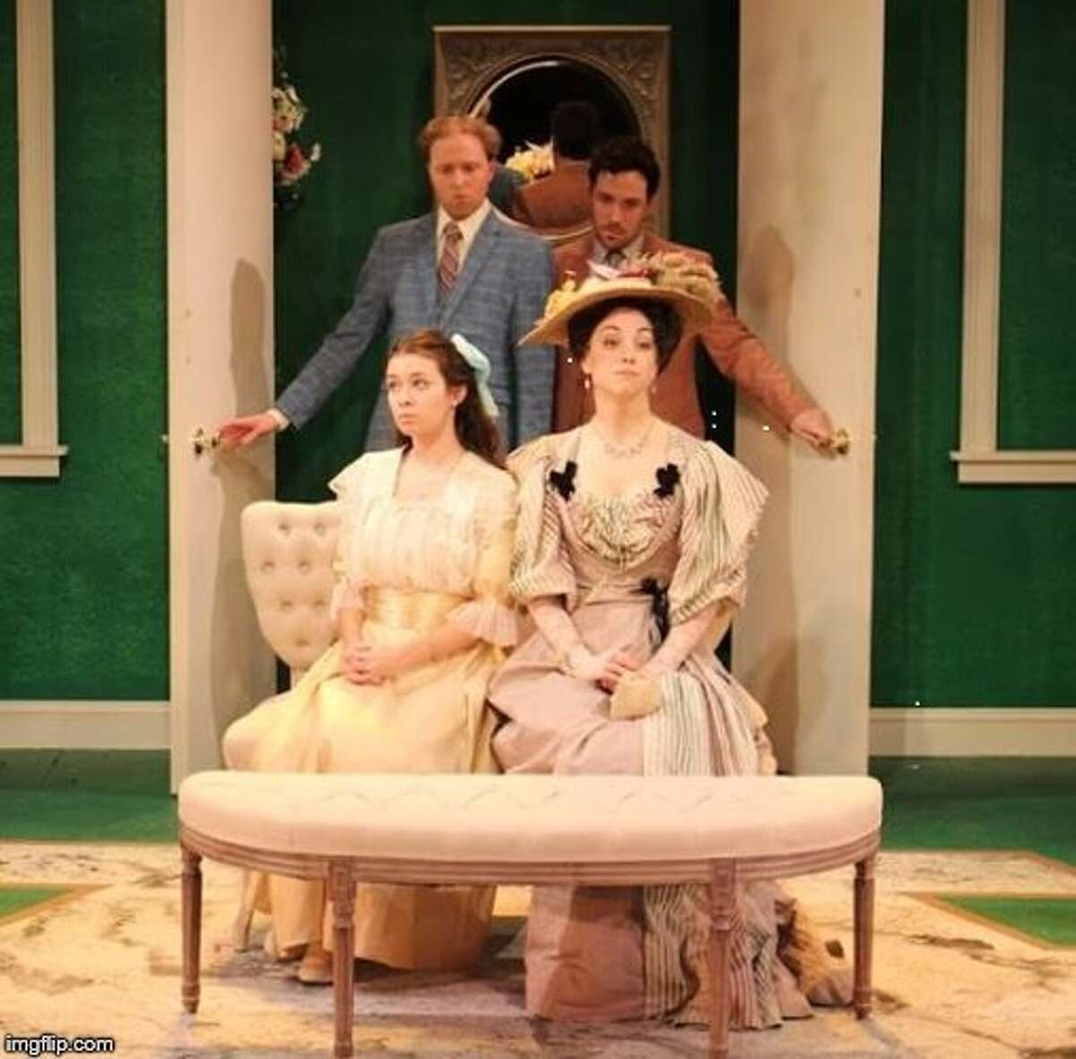 """""""The Importance of Being Earnest,"""" Curtain Call Theatre, 1 Jeanne Jugan Lane, Latham. 7:30 p.m. Thursday, 8 p.m. Friday and Saturday, 3 p.m. Sunday."""