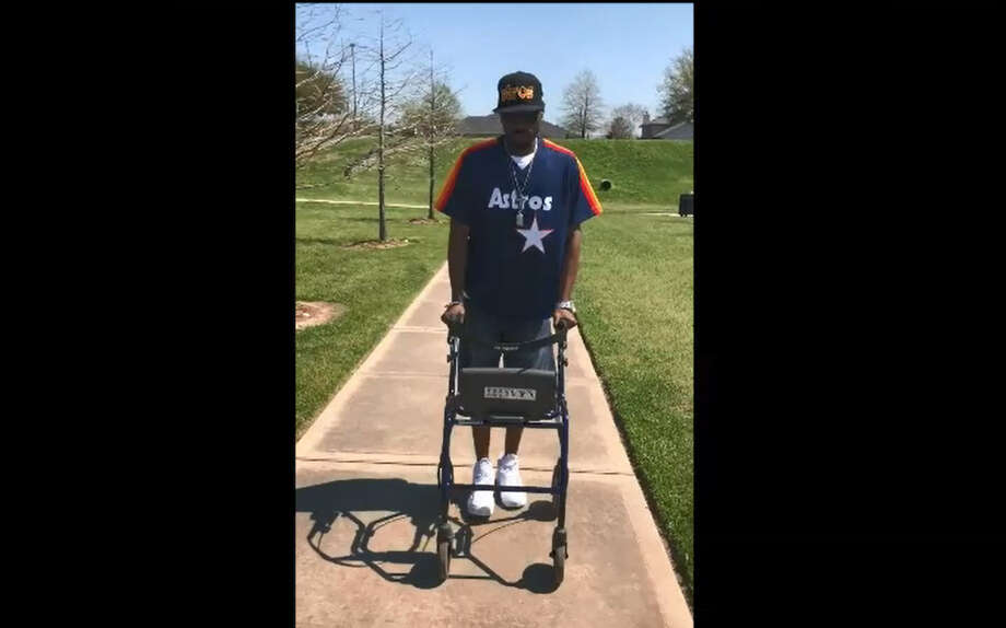 Officer Justin Gay, a deputy with the Harris County Precinct 4 Constable's Office, is walking again after being shot seven times in the leg on Nov. 5, 2017.Scroll ahead to see some of the notable crimes in the Houston area so far in 2018.  Photo: Harris County Precinct 4 Constable's Office
