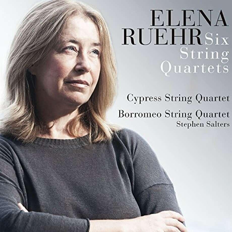 Elena Ruehr, String Quartets Photo: Avie Records