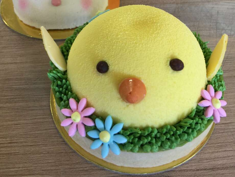 Bakery Lorraine, 306 Pearl Parkway, 210-862-5582, bakerylorraine.com, will sell Easter egg moonpies, carrot cake and bunny heads made with white chocolate mousse and strawberry compote. Open 7 a.m.-8 p.m. Photo: Courtesy Photo