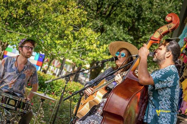 Flea by Night at Discovery Green will feature live music by Sherita Perez, this Saturday.