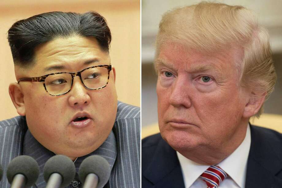 Negotiatiosn between North Korea's Kim Jong-Un and President Donald Trump are as good idea now as they were when suggested by Secretary of State Rex Tillerson. Photo: SAUL LOEB /AFP /Getty Images / AFP