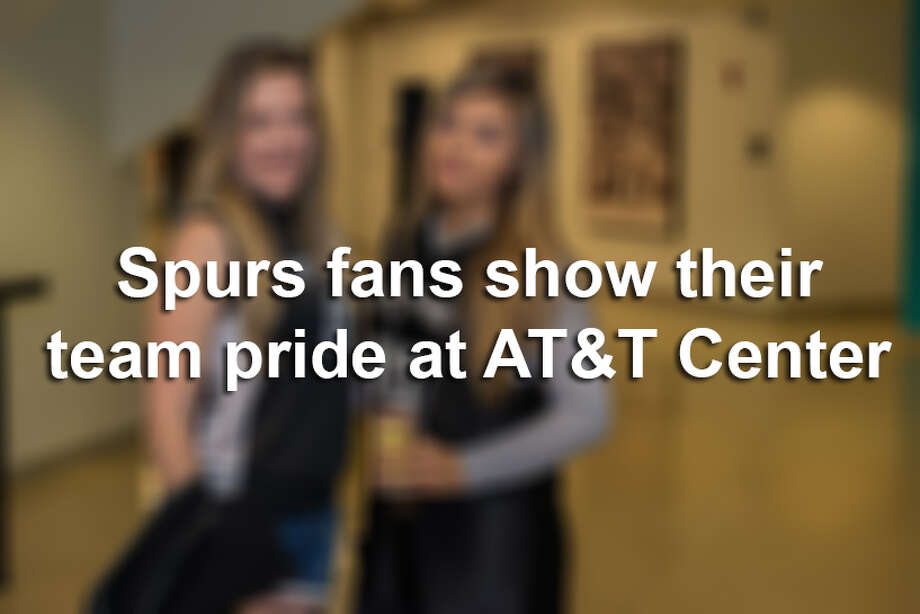 Click through to see how Spurs fans showed their pride as the Silver & Black took on the rival Lakers Saturday March, 3, 2018. Photo: Kody Melton For MySA.com