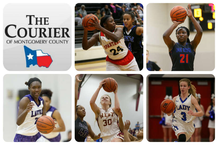 Kiara Stewart (Porter), Alecia Whyte (Oak Ridge), De'Janae Gilmore (Willis), Hannah Eggleston (Magnolia West) and Skylar Patton (New Caney) are The Courier's nominees for Defensive MVP.