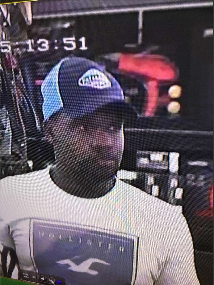 Live Oak police are looking for this suspect, who allegedly took a photo up a woman's skirt in a department store on March 8, 2018. Photo: Contributed Photo