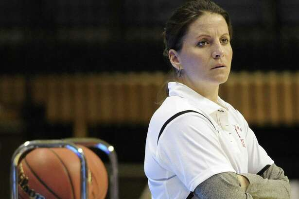 George Washington coach Jennifer Rizzotti, seen here while coach at Hartford in 2011, was named as one of the assistant coaches on the 2018 U.S. Women's Senior National team.