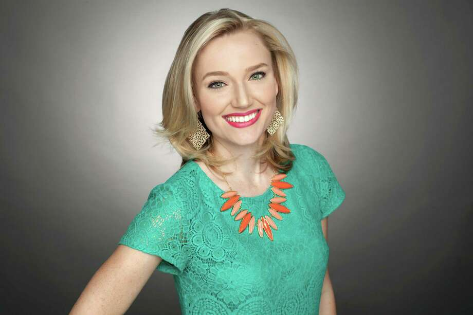 KSAT-TV meteorologist Sarah Spivey revealed that she's hard of hearing and recently got the aid she needed for a fuller life. Photo: Courtesy Of KSAT /