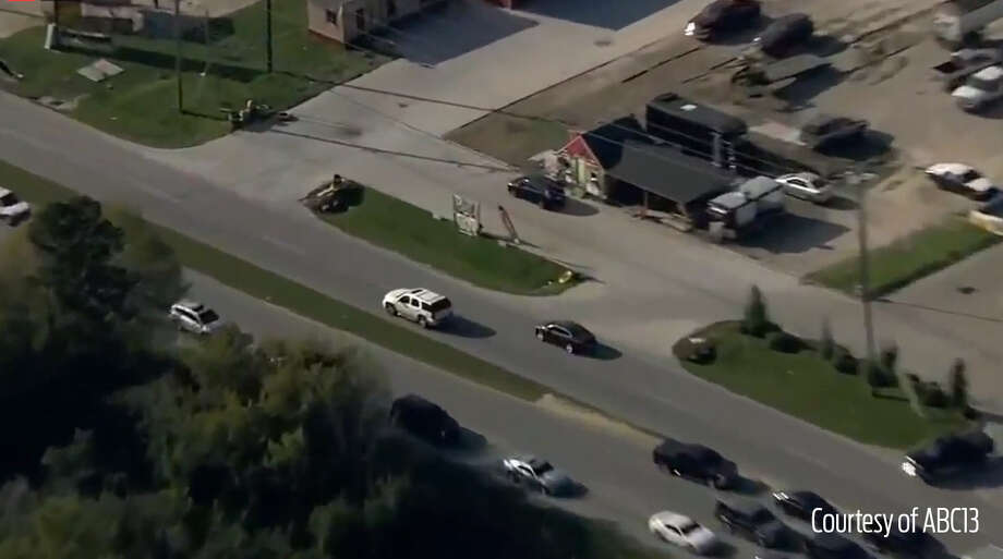 The driver is seen speeding through neighborhoods and almost hitting other vehicles. Photo: ABC 13