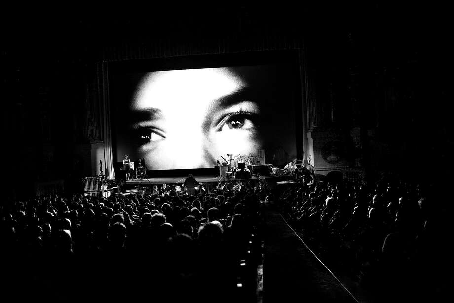 """Gentile's noir photo style comes through in """"Brand Upon the Brain,"""" shot at the Castro in 2007. Photo: Pamela Gentile 2007"""