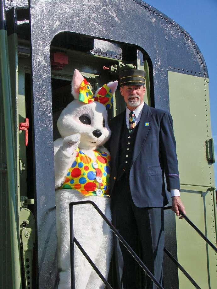 Danbury Railway Museum will offer train rides to see the Easter Bunny on Saturday and Sunday, March 24-25, and Friday and Saturday, March 30-31. Photo: Danbury Railway Museum / Contributed Photo