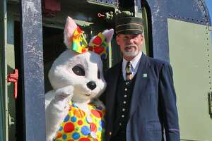 Danbury Railway Museum will offer train rides to see the Easter Bunny on Saturday and Sunday, March 24-25, and Friday and Saturday, March 30-31.