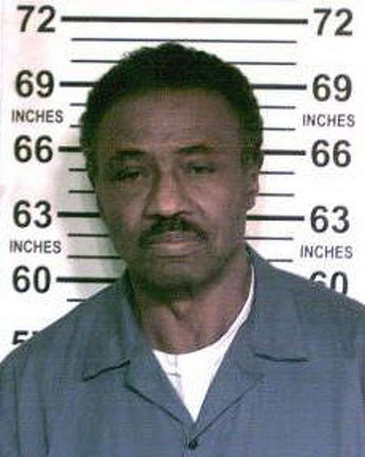 In this Oct. 10, 2017 photo provided by the New York State Department of Corrections and Community Supervision, inmate Herman Bell is poses for a photo at the Shawangunk Correctional Facility in Shawangunk, N.Y. Bell, a former member of a 1970s black radical group who was convicted of fatally shooting two New York City police officers has been granted parole. (New York State Department of Corrections and Community Supervision via AP)