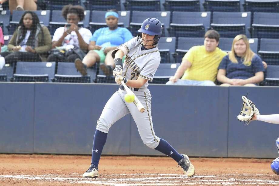 Colonie High graduate Marisa Sholtes of the North Carolina-Greensboro softball team. (Courtesy of North Carolina-Greensboro Athletics) Photo: Carlos Morales
